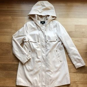 H&M Light Weight Tan Coat